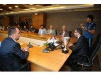 Bakan Kasapoğlu, Avrupa Şampiyonu İşitme Engelli Milli Takımı'ya buluştu