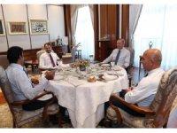 """Bakan Albayrak: """"Türkiye-Katar işbirliğini çok daha ileriye taşıyacağız"""""""
