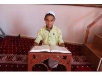 Mardinli 12 yaşındaki Nurettin Şuş, 9 ayda hafız oldu