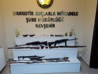 Nevşehir'de uyuşturucu taciri 7 kişi tutuklandı