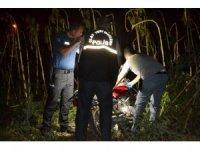 Motosiklet hırsızları yolda kalınca yakayı ele verdi