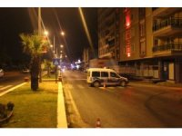 Aydın'da silahlı çatışma, karayoluna adeta kurşun yağdı