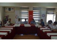 Gürün'de Ağustos ayı güvenlik toplantısı