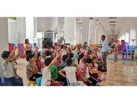 Hakkari Çocuk Oyun ve Kültür Merkezine büyük ilgi