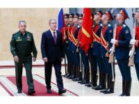 Hulusi Akar, Rus mevkidaşı ile görüştü