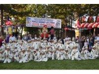 Taşköprü'de 85 çocuk erkekliğe ilk adımlarını attı