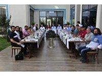 Afyon Belediyespor yönetimi basın mensupları ile bir araya geldi
