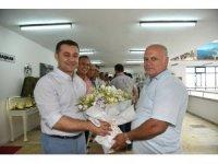 Başkan Yücel, personelin bayramını tebrik etti