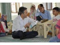 Başkan Tütüncü'den Kur'an Kursu ziyaretleri ve Kur'an-ı Kerim hediyesi