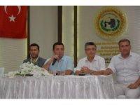 Başkan Fatih Bakıcı belediye personeliyle bayramlaştı