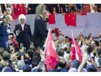 """Cumhurbaşkanı Erdoğan: """"Bugüne kadar bizi çökertemediler, bundan sonra da çökertemeyecekler"""""""