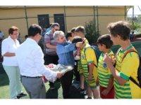 Elmadağ'da futbol turnuvası