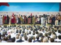 """Cumhurbaşkanı Erdoğan: """"Türkiye'nin sınır güvenliğinin sınır ötesinden başladığı inancı ile yürüttüğümüz operasyonları genişleterek devam ettireceğiz"""" (3)"""