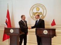 Bakan Soylu Sırbistanlı mevkidaşı Stefanovic'i kabul etti