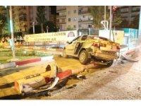 Mersin'de feci kaza; 1 ölü, 4 yaralı