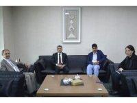 Ardahan Valisi Bilmez'den DAP İdaresi'ne ziyaret