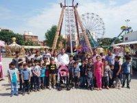 Ülkü Ocakları'ndan 50 Türkmen çocuğa bayram hediyesi