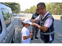 Antalya'da 'Kırmızı Düdük' projesi başladı