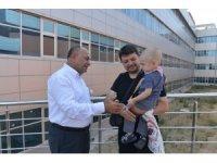 Başkan Arslan, Kurban Bayramı öncesi şifa diledi