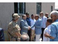 Vali Ustaoğlu, Güroymak'ta taziyeye katıldı