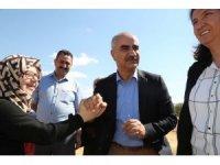 Başkan Aydın, kurban pazarını gezdi