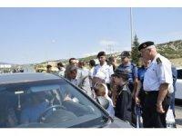Burdur'da 'Kırmızı Düdük' uygulaması