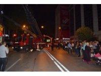 Malatya'da otel yangını korkuttu