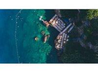 Muratpaşa'da Falez plajları ve kafeler bayramda açık