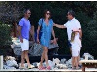 Sarkozy ve dünyaca ünlü şarkıcı eşi Bodrum'da