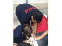 İtfaiyeden parmakta sıkışan yüzük çıkarma operasyonu