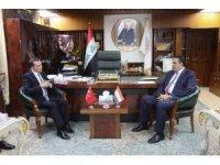 Türkiye'nin Bağdat büyükelçisi Yıldız'dan Kerkük'e resmi ziyaret