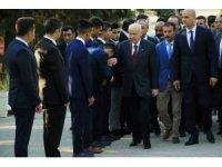 """Bahçeli'den erken seçim açıklaması: """"Türkiye'yi kaosa sürüklemek olur"""""""