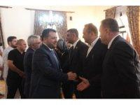 Elazığ'da bayramlaşma töreni
