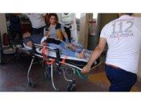 Acemi kasaplar birbirini bıçakladı: 2 yaralı