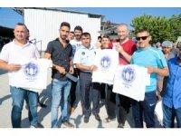 Battalgazi Belediyesi, kasap önlüğü ve et poşeti dağıttı