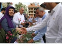 AK Parti Antalya teşkilatında bayramlaşma töreni
