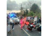 Sakarya'da pat pat kazası: 8 yaralı