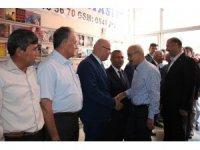 Lütfi Elvan Karaman'da partisinin bayramlaşma programına katıldı