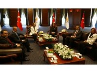 MHP heyetinden AK Parti'ye bayram ziyareti