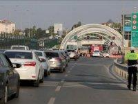 Avrasya Tüneli girişinde trafik kazası meydana geldi