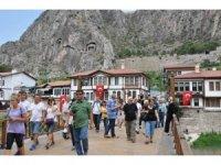 Amasya'daki müzeleri bayram tatilinde nüfusunun yarısı kadar kişi gezdi