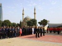 Azerbaycan'da Zafer Bayramı kutlaması