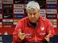 A Milli Futbol Takımı Teknik Direktörü Lucescu: Zamana ihtiyacımız var