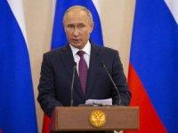 """Putin'den düşürülen Rus uçağıyla ilgili """"şanssızlık"""" yorumu"""