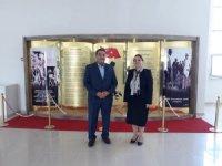 Fendoğlu'ndan, Rektör Karabulut'a hayırlı olsun ziyareti