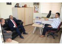 Başkan  Aydın'dan İHA'ya ziyaret