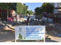 Nazilli Belediyesi üst yapı çalışmalarını sürdürüyor
