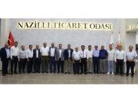 Nazilli Ticaret Odası ve Esnaf Odaları istişare toplantısı yapıldı