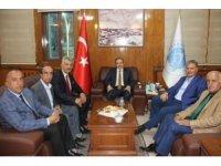 Milletvekili Çakır Hakkari'de ziyaretlerde bulundu