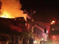 Kocaeli'de Suriyeli ailenin evinde yangın